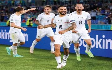 الصورة: الصورة: موعد مباراة إيطاليا وويلز «يورو 2020»