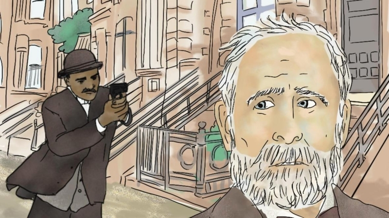 الصورة : من الرسوم التوضيحية في رواية «خطأ جسيم » (غريت ميستيك)