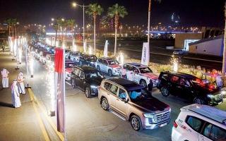 الصورة: الصورة: الفطيم تويوتا تطلق سيارة لاند كروزر الجديدة كلياً في الإمارات