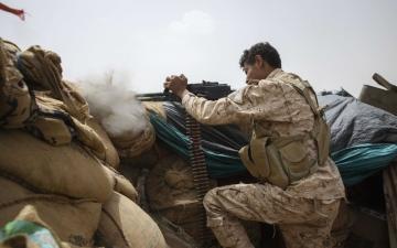 الصورة: الصورة: مخططات الحوثي تصطدم بصخرة الشرعية في مأرب