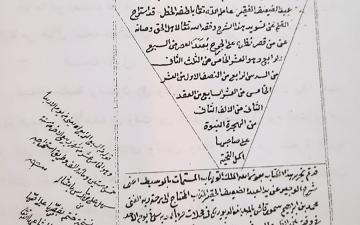 الصورة: الصورة: «تأريخ الكتاب العربي المخطوط» محاضرة في مركز جمعة الماجد