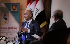 الصورة: الصورة: برهم صالح: لا استقرار في المنطقة بلا عراق مستقل