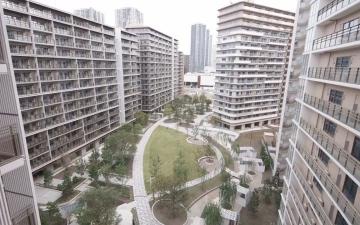 الصورة: الصورة: بالفيديو.. طوكيو تكشف عن القرية الأولمبية للمرة الأولى