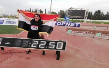 الصورة: الصورة: العراقية دانا إلى أولمبياد طوكيو عبر البوابة العربية