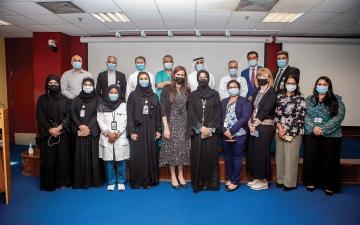 الصورة: الصورة: مستشفى توام ينجح في إعادة تجديد شهادة برامج الرعاية الإكلينيكية