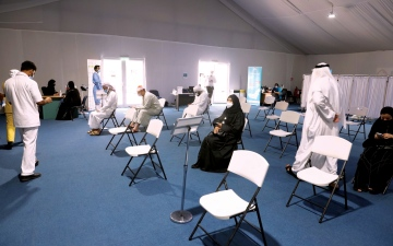 الصورة: الصورة: «الشؤون الإسلامية» في دبي تشجع موظفيها على التبرع بالدم