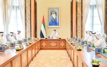 الصورة: الصورة: منصور بن زايد يترأس اجتماع تنفيذية «مبادلة»