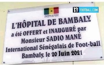 الصورة: الصورة: مستشفى ساديو ماني.. مبادرة إنسانية جديدة في قريته