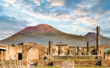 الصورة: الصورة: متحف يروي قصة جبل «فيزوف» ومدينة بومبي