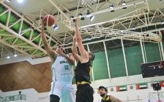 الصورة: الصورة: شباب الأهلي والكويت في قمة السلة الخليجية اليوم