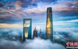 """الصورة: الصورة: افتتاح """"فندق السماء"""" الأطول في العالم بشنغهاي"""