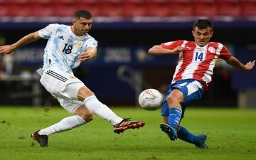 الصورة: الصورة: الأرجنتين إلى في دور الثمانية لكوبا أمريكا بفوز على باراغواي