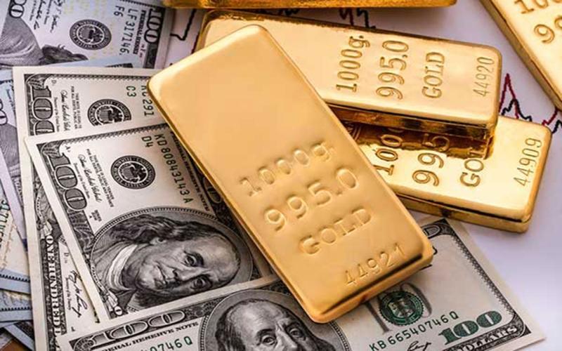 الصورة: الصورة: ارتفاع أسعار الذهب بفضل ضعف الدولار