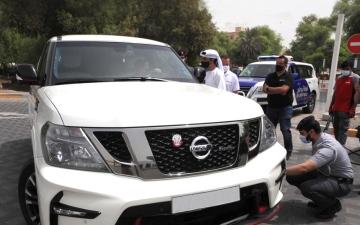 الصورة: الصورة: شرطة أبوظبي: الإطارات الرديئة خطر يهدد سلامة مستخدمي الطريق