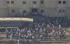 الصورة: الصورة: مصر تكشف حصيلة إصابات اصطدام قطار بآخر في الإسكندرية