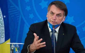الصورة: الصورة: رئيس البرازيل لصحافي: اخرس
