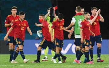 الصورة: الصورة: موعد مباراة إسبانيا وسلوفاكيا في «يورو 2020»