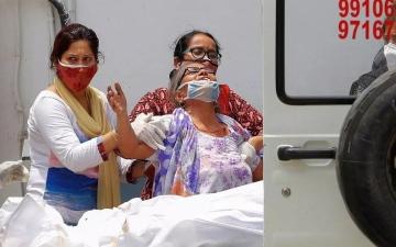 الصورة: الصورة: الهند تعلن اكتشاف 22 حالة إصابة بسلالة جديدة من كورونا