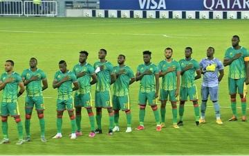 الصورة: الصورة: موريتانيا تتخطى اليمن وتبلغ نهائيات كأس العرب 2021