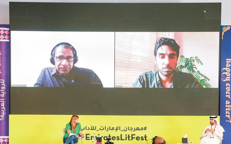 الصورة: الصورة: جلسة جديدة من مهرجان طيران الإمارات للآداب متاحة على يوتيوب