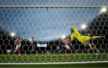 الصورة: الصورة: كرواتيا تقهر إسكتلندا وتتأهل رسمياً لثمن نهائي يورو 2020