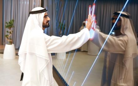 الصورة: الصورة: محمد بن راشد: نريد دبي العاصمة الرقمية للعالم قريباً