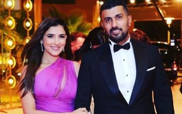 الصورة: الصورة: محمد سامي ومي عمر يحصلان على الإقامة الذهبية في الإمارات