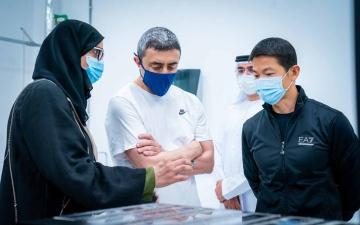 الصورة: الصورة: عبد الله بن زايد يشارك في برنامج الجينوم الإماراتي