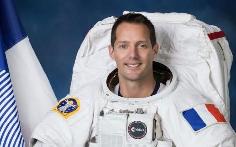 الصورة: الصورة: رائد الفضاء الفرنسي توماس بيسكيه: جناح بلدي في إكسبو دبي سيكون متميزاً