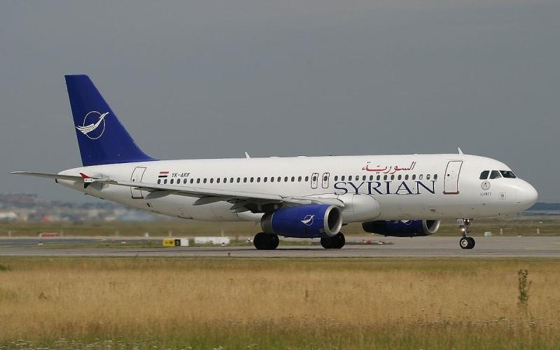 """الصورة: الصورة: """"السورية للطيران"""" تستأنف رحلاتها إلى أبوظبي"""