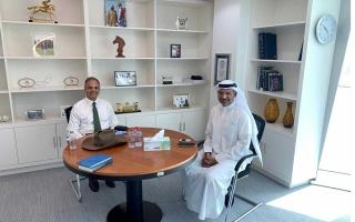 الصورة: الصورة: نادي دبي لسباق الخيل وجامعة الإمارات يبحثان التعاون المشترك