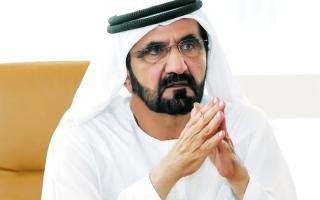 الصورة: الصورة: محمد بن راشد   يعتمد تشكيل إدارة هيئة الإمارات لسباق الخيل برئاسة منصور بن زايد