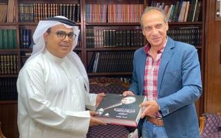 الصورة: الصورة: «الشارقة للتراث» يتعاون مع الهيئة المصرية للكتاب