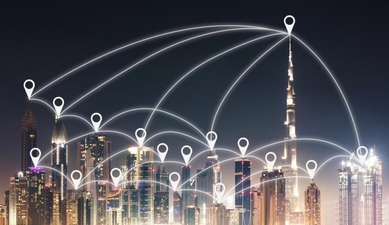 الصورة : دبي مثال للمدينة الذكية التي تتبنى أحدث التقنيات الملائمة للجميع | من المصدر