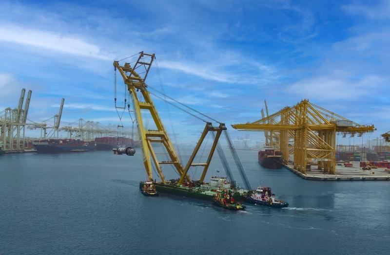 الصورة : 839 طناً الوزن الإجمالي للمفاعلات بطول 35 متراً | من المصدر