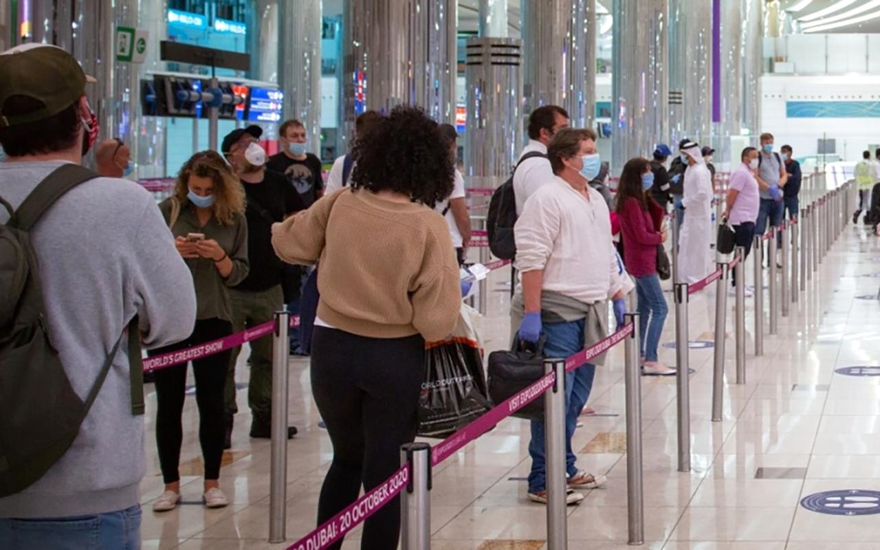الصورة : نشاط متزايد للسفر عبر دبي منذ بداية يوليو     أرشيفية