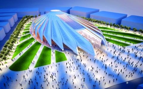 الصورة: الصورة: جناح الإمارات في «إكسبو 2020 دبي» صقر الريادة