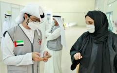 الصورة: الصورة: جامعيات متطوعات في رأس الخيمة: رد الجميل للوطن وخبرة ميدانية
