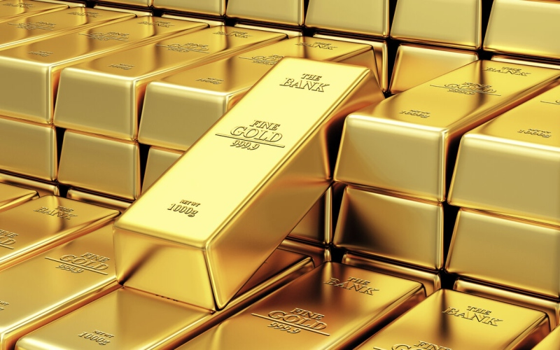 الصورة: الصورة: الذهب يتجه لأول خسارة أسبوعية في 5 أسابيع