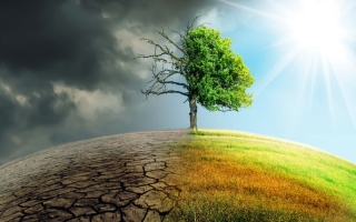 الصورة: الصورة: تحذير عالمي من المخاطر المرتبطة بالطقس والمياه الناجمة عن تغير المناخ