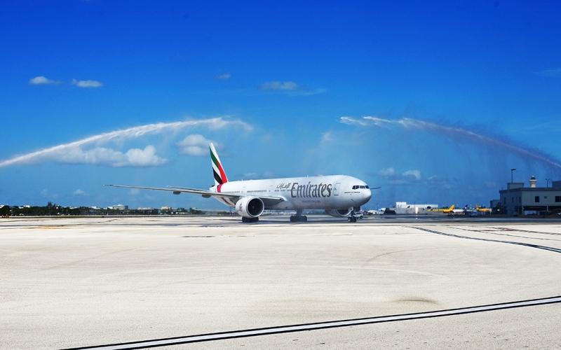 الصورة: الصورة: طيران الإمارات تدعم التجارة والسياحة بين دبي وميامي