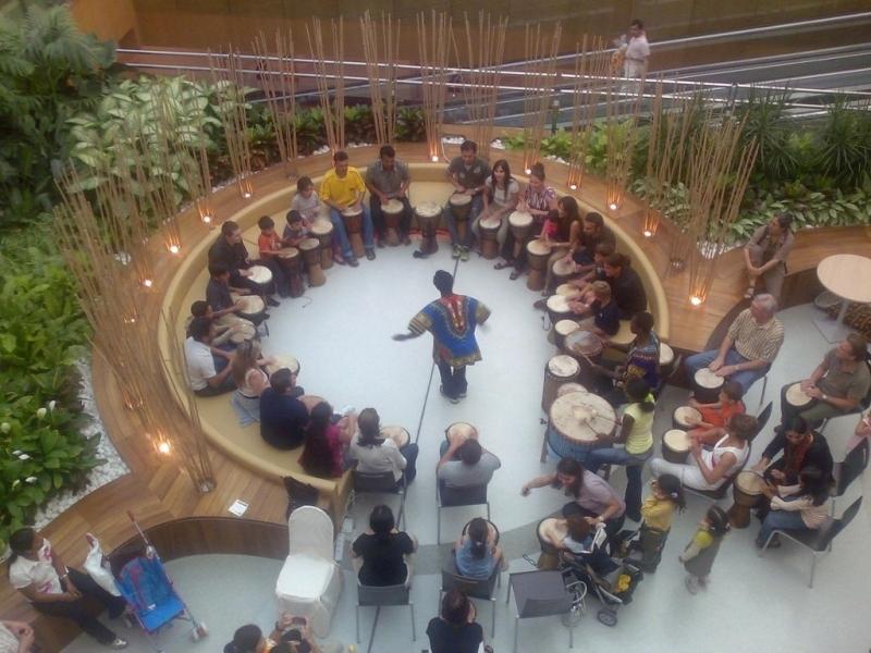 الصورة : حلقات الإيقاع تعقد في أماكن مختلفة في دبي   البيان
