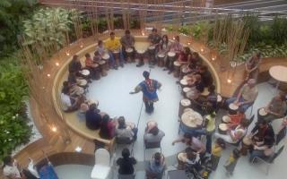 الصورة: الصورة: قرع الطبول يجمع ثقافات العالم في دبي