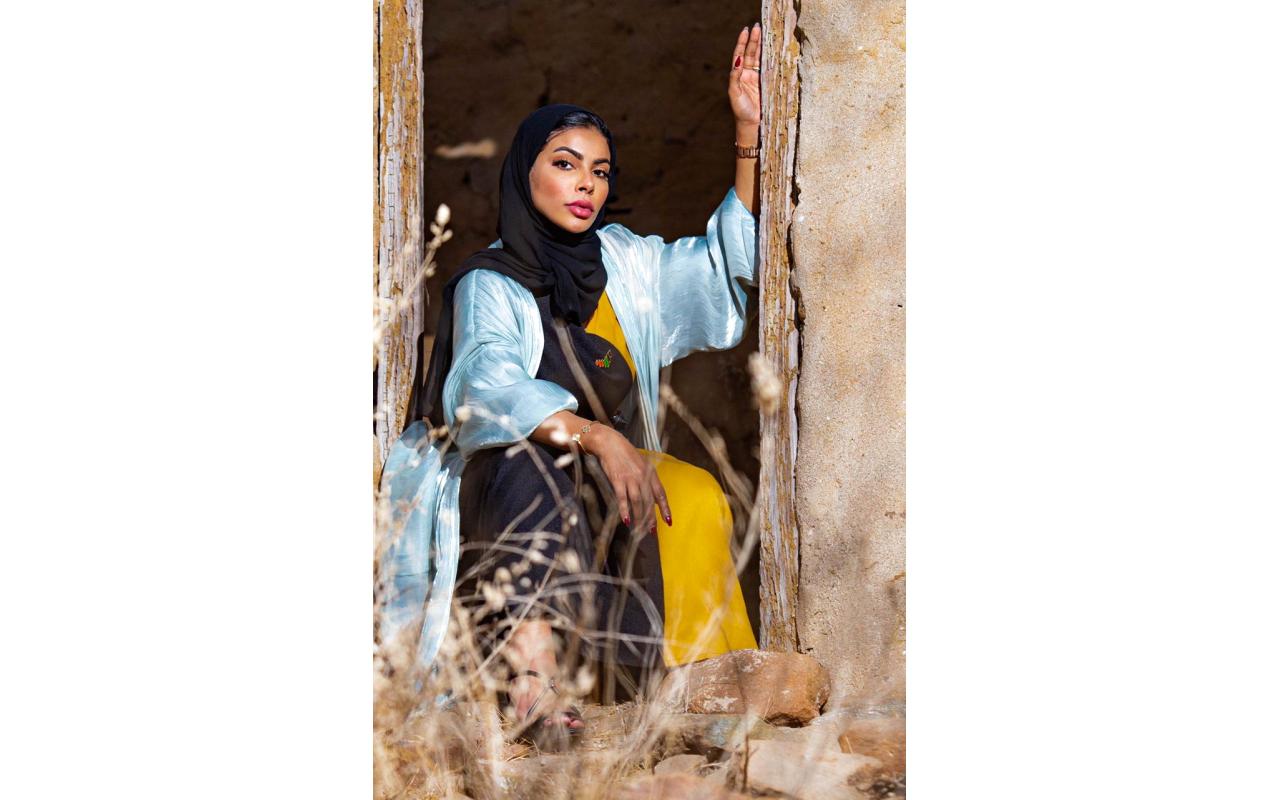 الصورة : عزيزة الحساني