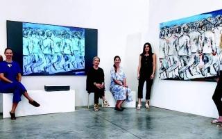 الصورة: الصورة: دبي تحتضن أول معرض يدمج الفن الرقمي والواقعي
