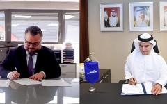 """الصورة: الصورة: """"طرق دبي"""" توقع مذكرة تفاهم مع """"إم إن دي"""" لدراسة تطوير شبكة جديدة للنقل المعلق"""