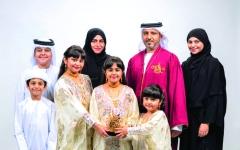 الصورة: الصورة: أسرة يوسف المرزوقي تنال الجائزة الـ8 ضمن «الشارقة للتميز التربوي»