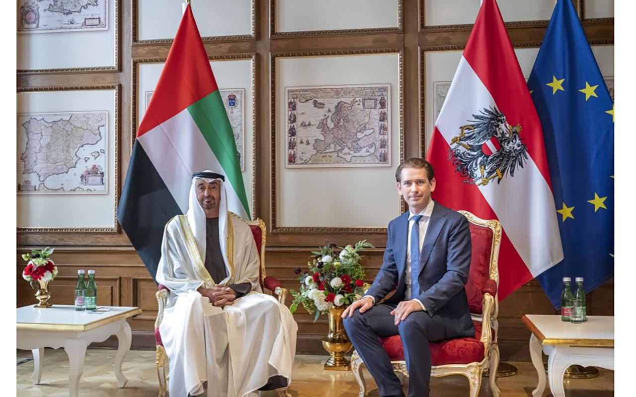 محمد بن زايد: علاقات قوية تربط الإمارات والنمسا