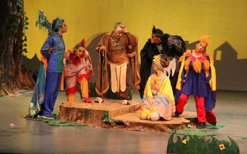 الصورة : مسرح الطفل بحاجة إلى نصوص قوية   البيان