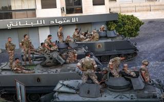 الصورة: الصورة: خمسة قتلى في اشتباكات جنوبي بيروت